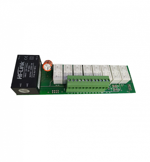 Applied RS485 8 Relay Module is for operating multiple loads