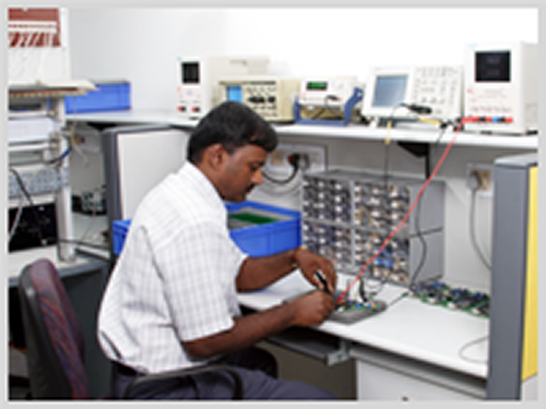 Electrical and Electronics components Testing Area
